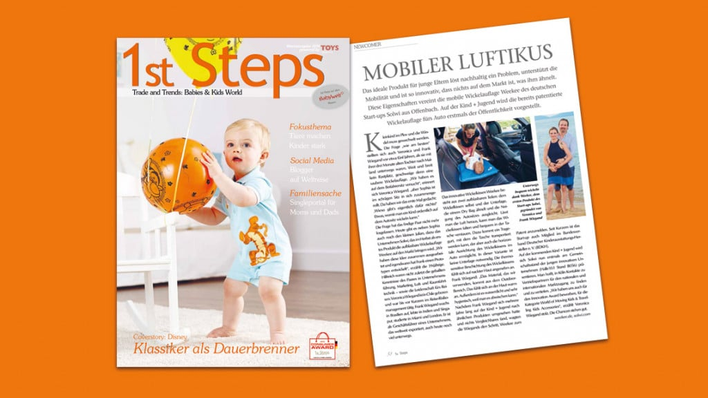 1st Step Messeausgabe